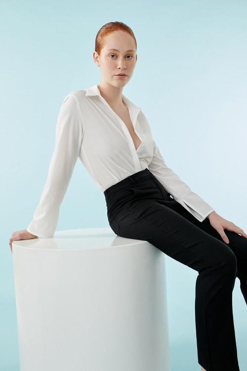 Camisa Olsen Off White