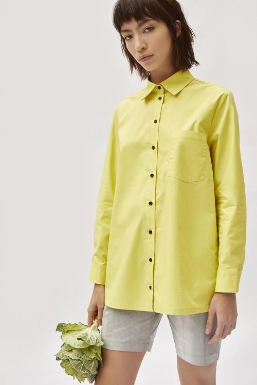 Camisa Basic Amarillo