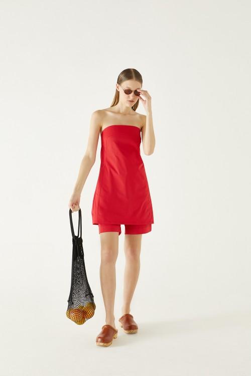Vestido Piacere Rojo