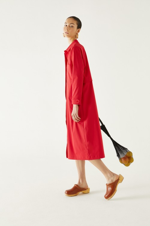 Camisaco Furio Rojo