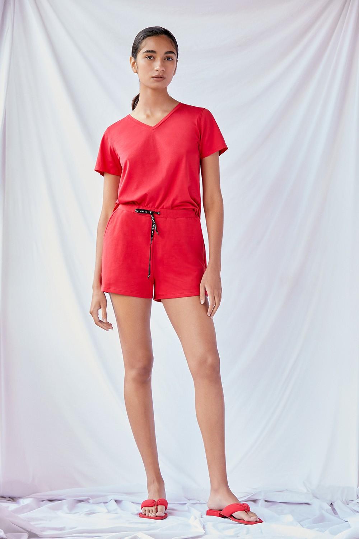 Short Basic Rustico Rojo