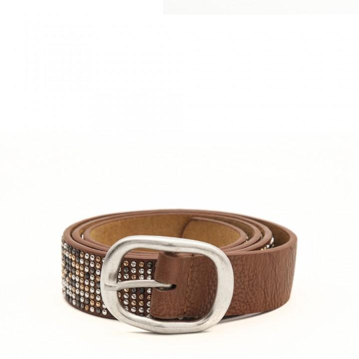Cinturón con tachas mini
