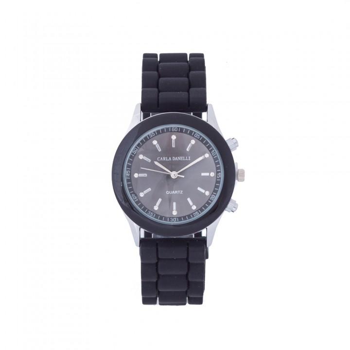 Reloj Negro con Strass