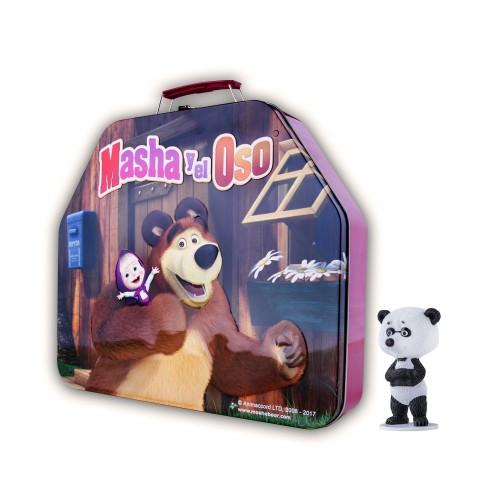 Caja contenedora + Panda