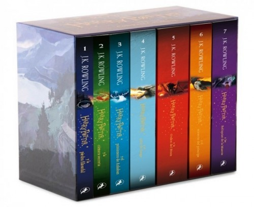 HARRY POTTER ESPECIAL - Pack completo