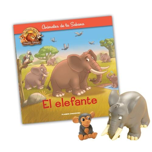 Papá Elefante-Mono hijo