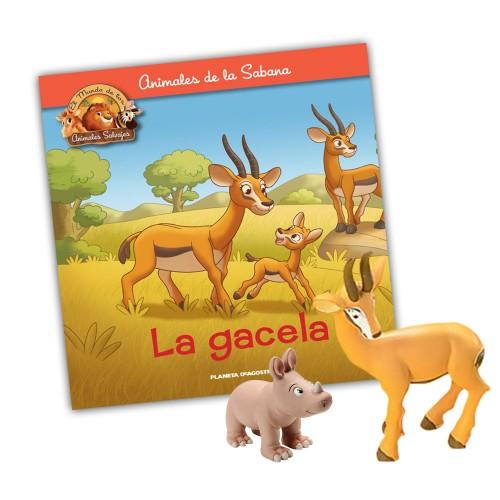 Mamá Gacela-Rinocereonte hijo