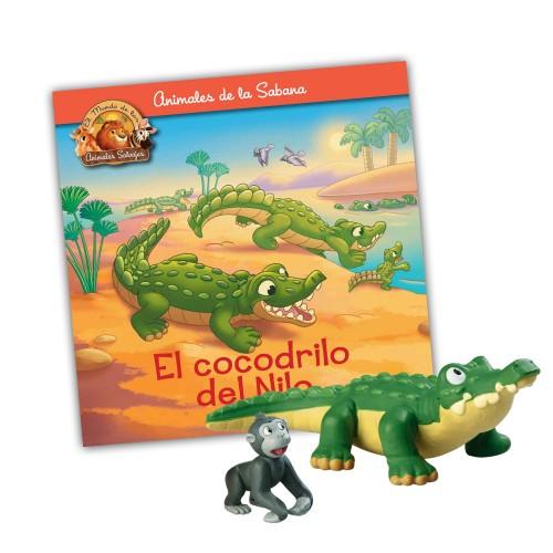 Papá Cocodrilo-Gorila hijo