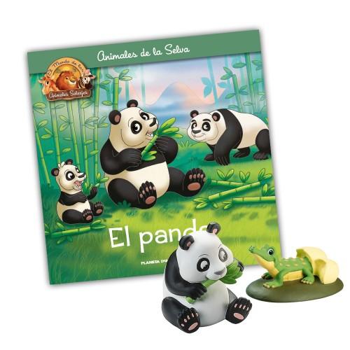 Mamá Panda-Cocodrilo hijo