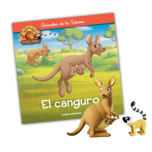 Mamá Canguro-Lemur hijo