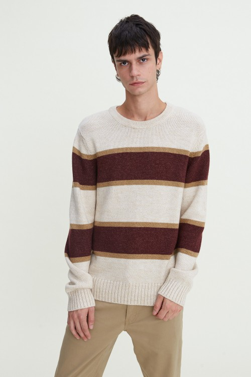 Crewneck Stripe