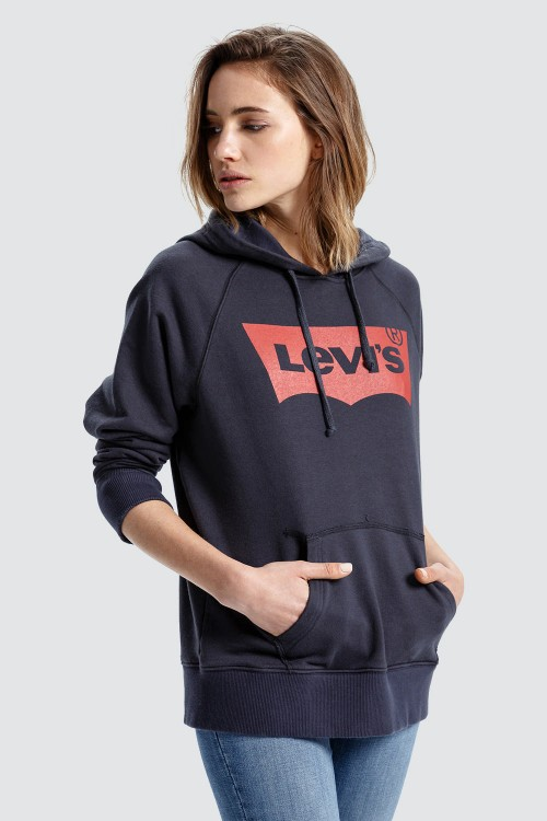 Graphic Batwing Hoodie