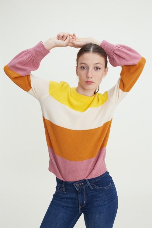 Hollie Crewneck Stripe