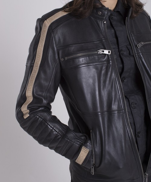 JACKET LEATHER PARKING