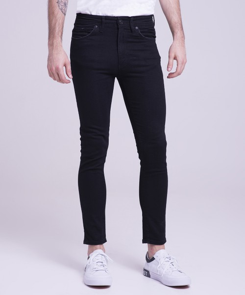 SUPER SKINNY JEANS HELL CLASSIC BLACK