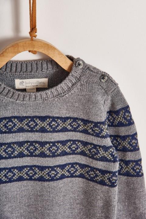 Sweater Jacquard Boy