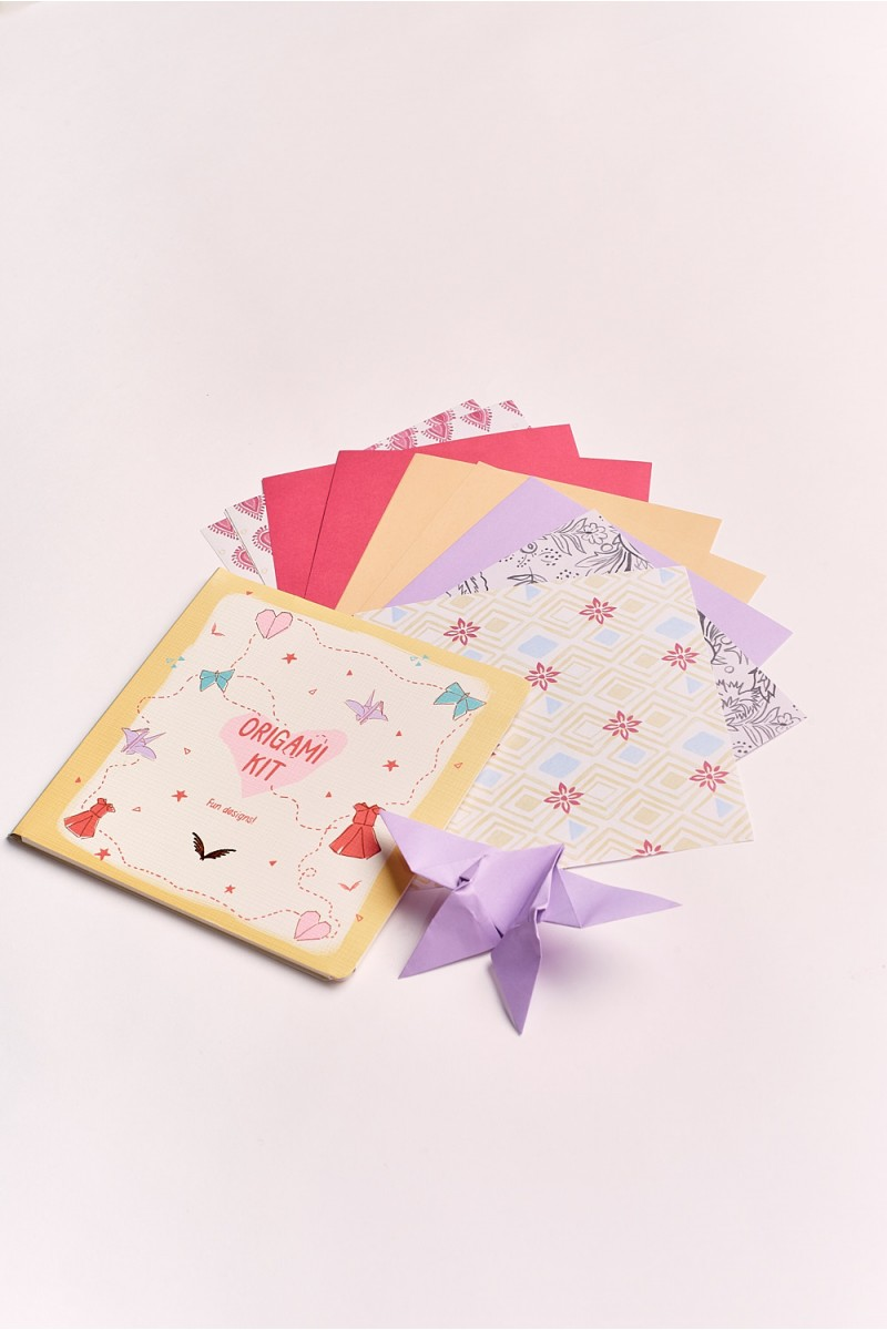 Cuaderno Origami Girls