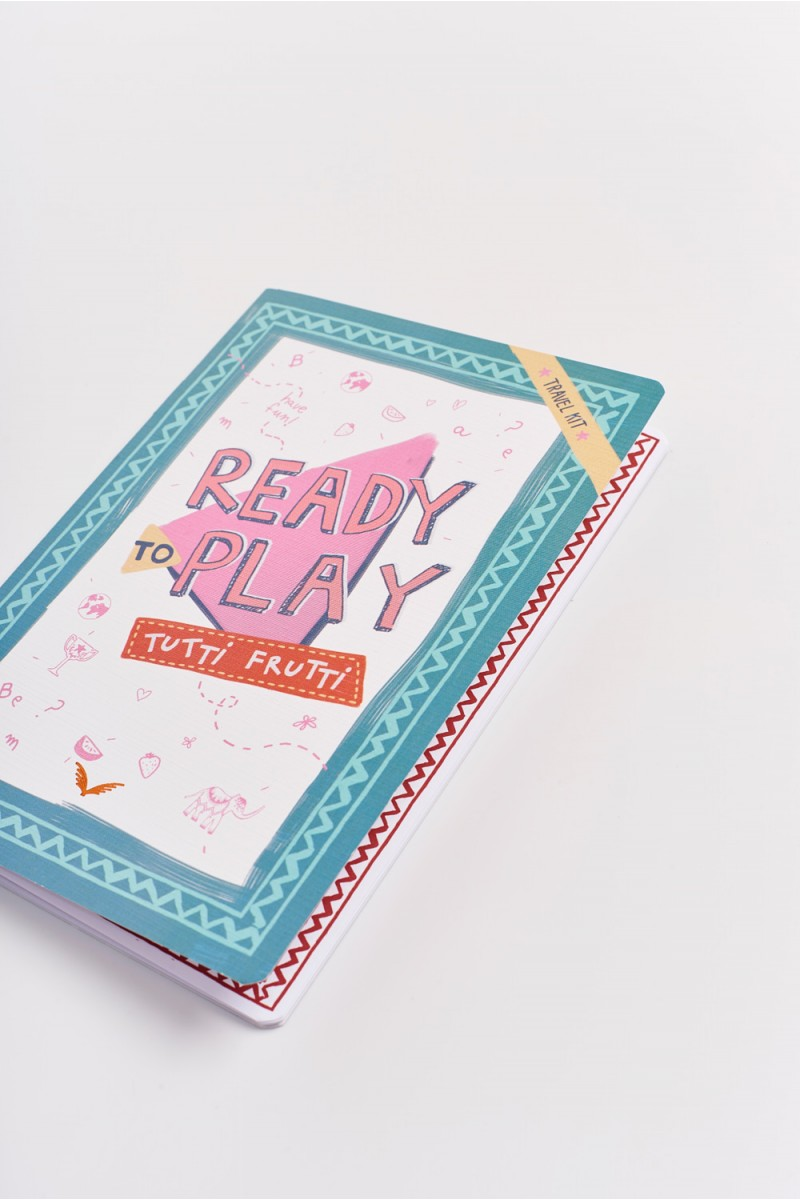 Cuaderno Play Frutti Gde Girls