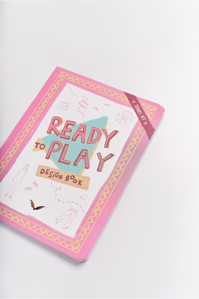 Cuaderno Play Design Med Girls