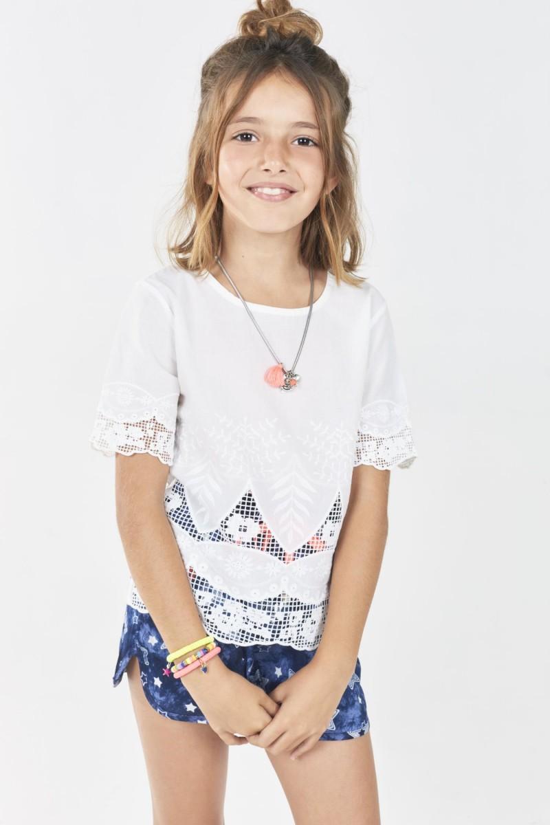 Camisa Broderi New