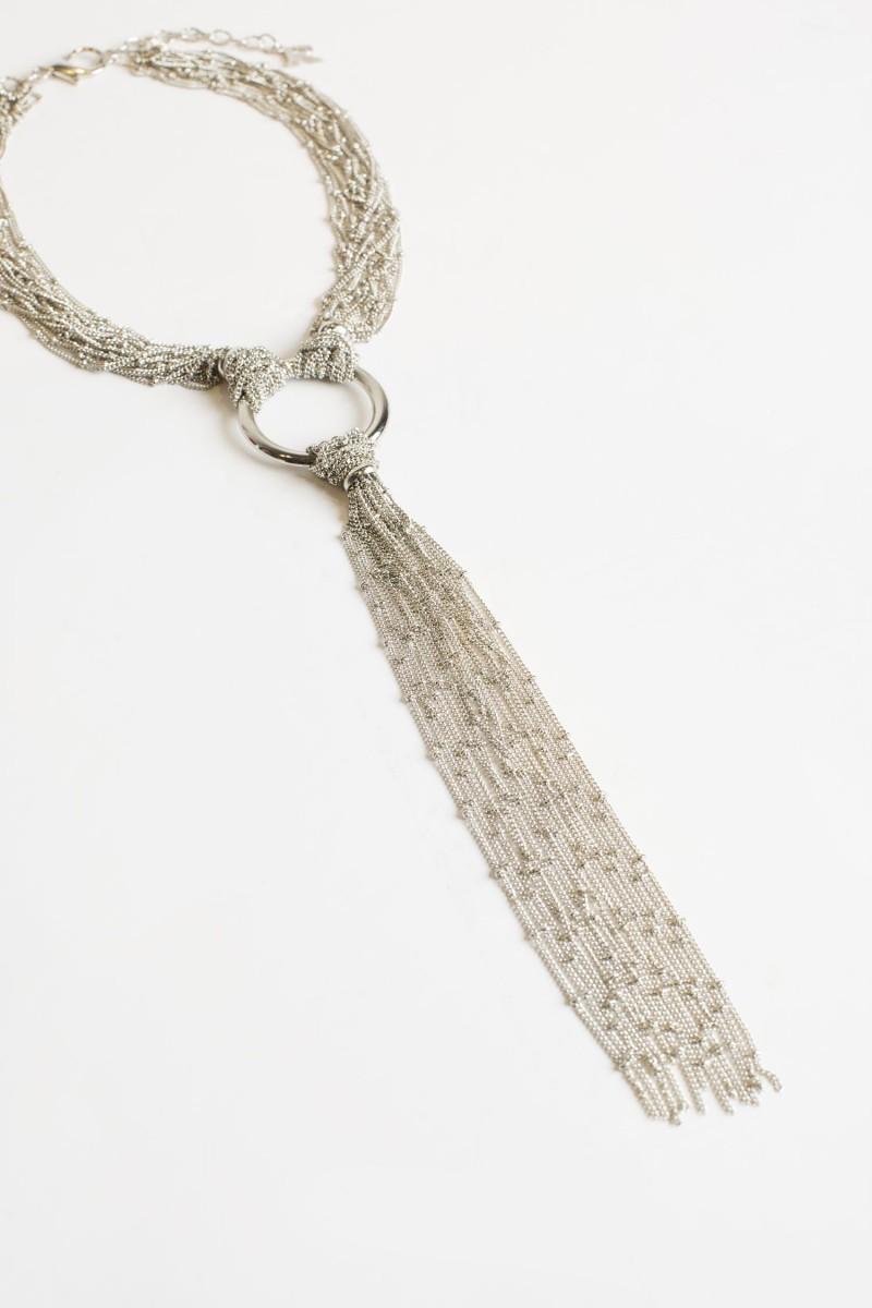 Collar Silver Metal