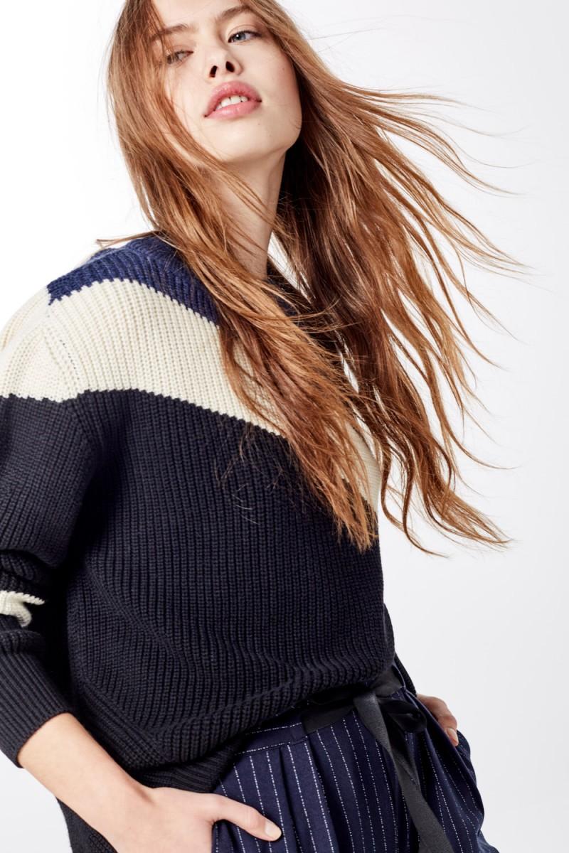 Sweater Lanesi Block Print
