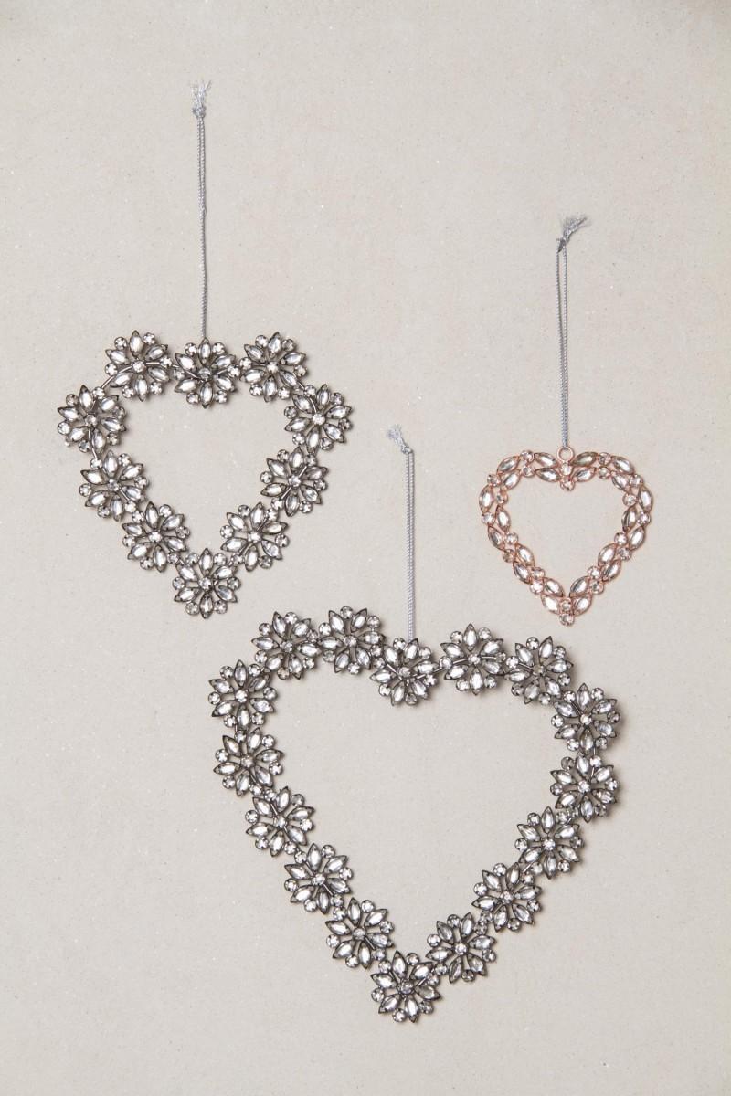 Adorno Grey Heart