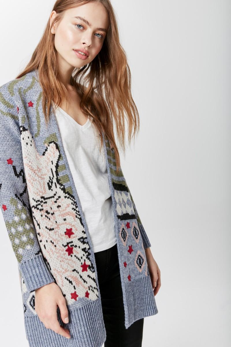 Sweater Wolf Cham