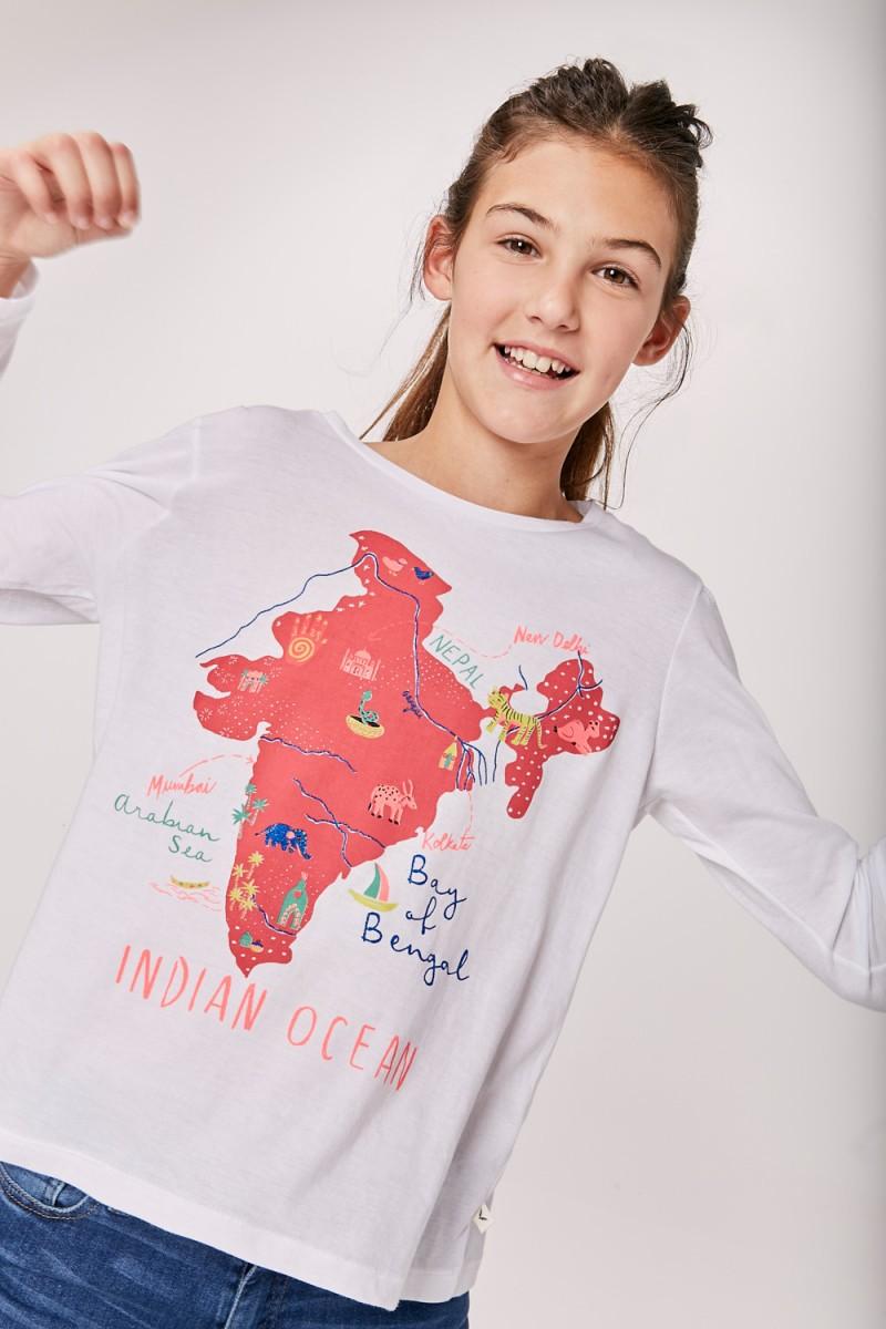 Remera India Girls