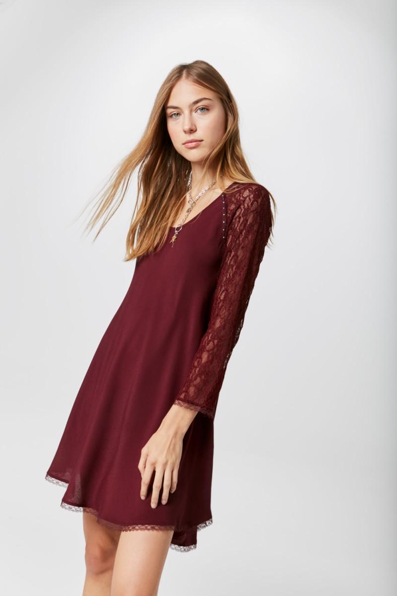 Vestidos cortos invierno 2019