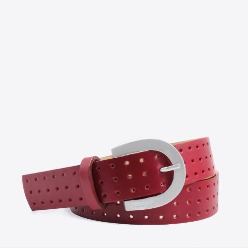 Cinturon Cork bordo