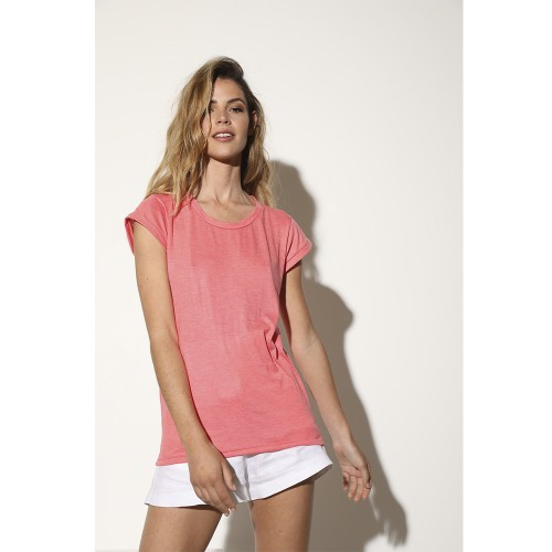 Remera Jazz coral