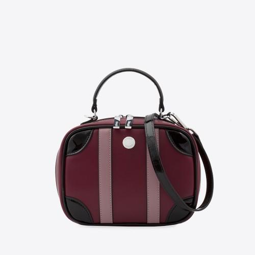 Mini Bag Liz uva/negro