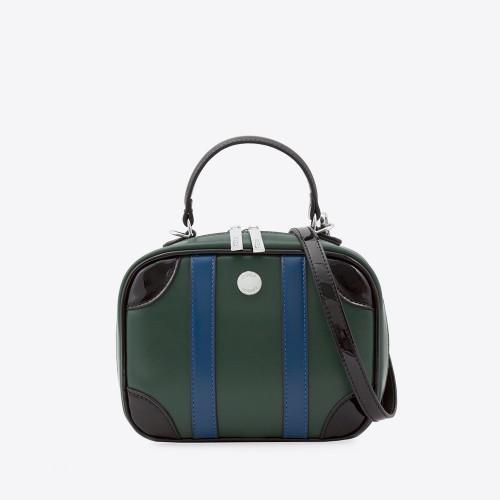 Mini Bag Liz verde/azul/negro