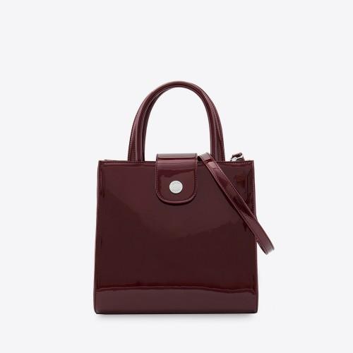 Mini Bag Zac charol bordo