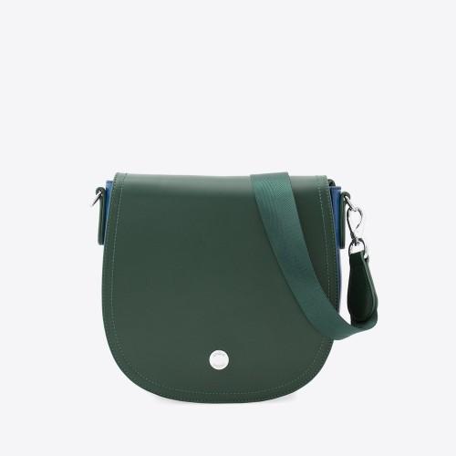 Bandolera Karl verde/azul