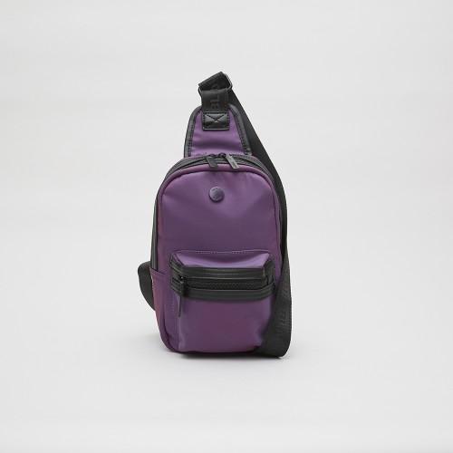 Mochila Powell violeta tornasol
