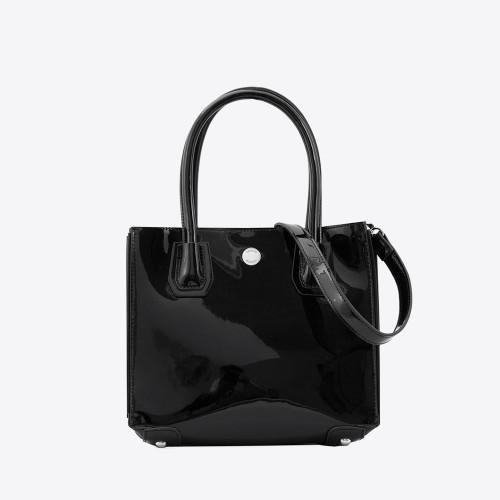 Mini Bag Briana charol negro