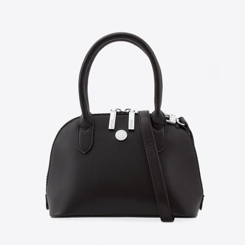 Mini Bag Lombardia microfibra negro