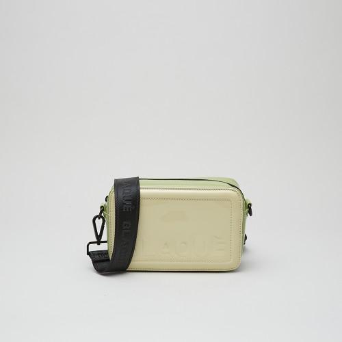 Mini bag Stephen charol natural/charol verde
