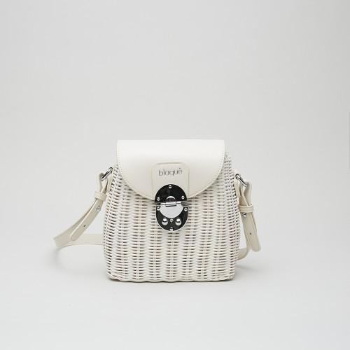 Mini Bag Bennet mimbre natural
