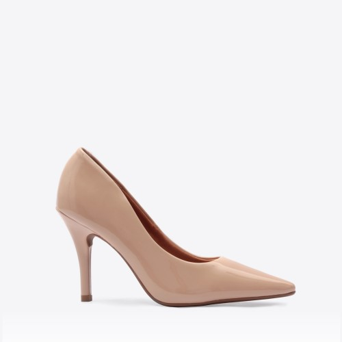 Stiletto Berlin charol beige