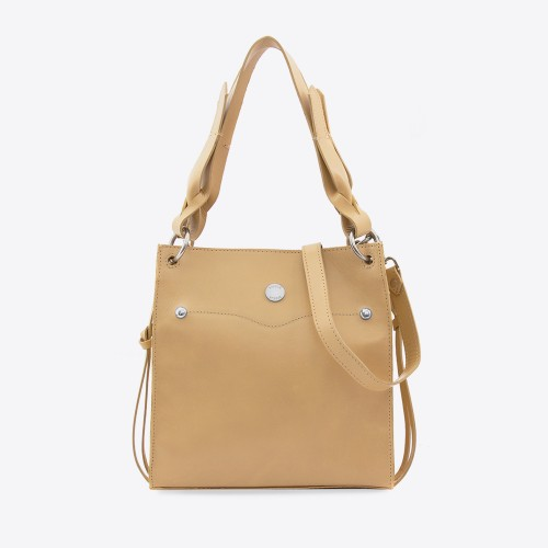 Cartera Connie camel