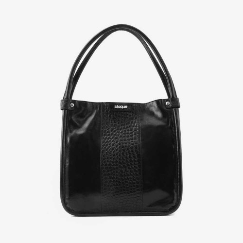 Cartera Margot charol negro