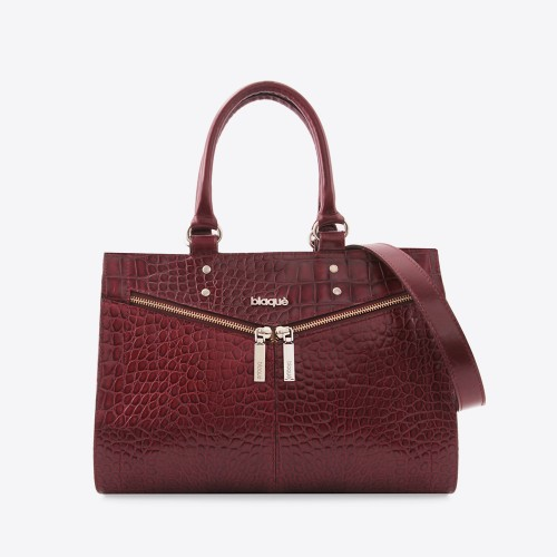 Cartera Millie croco bordo