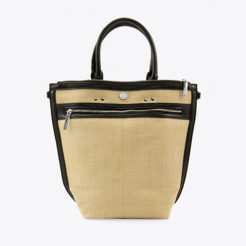Cartera Ruth rafia natural