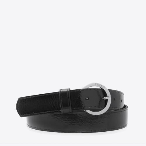 Cinturón Basilea croco negro