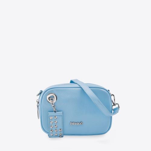 Mini Bag Pauline charol celeste
