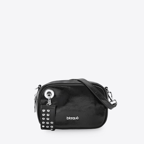 Mini Bag Pauline charol negro