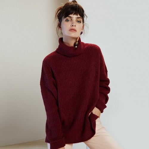 Sweater Audrey bordo
